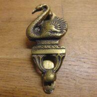 Antique Swan Door knocker - D639-0121 Antique Door Knocker Company