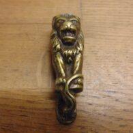 Small Lion Door Knocker - D641-0121 Antique Door Knocker Company