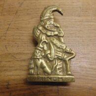 Punch Door Knocker - D645-0121 Antique Fireplace Company