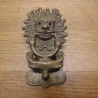 Durham Sanctuary Door Knocker - D141-0221 Antique Door Knocker Company