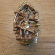 Pixie Door Knocker - D328-0718 Antique Door Knocker Company