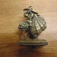 Antique Little Miss Muffet Door Knocker - D661-0221Antique Door Knocker Company