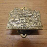 Shakespeare's House Door Knocker - D672-0221 Antique Door Knocker Company