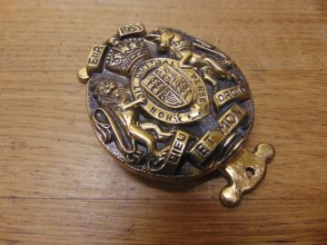 Royal Coat of Arms Door Knocker - D679-0221 Antique Door Knocker Company