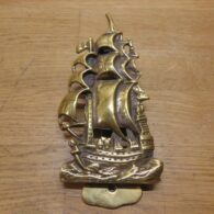 HMS Revenge Ship Door Knocker - D680-0221 Antique Door Knocker Company