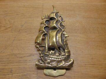 HMS Revenge Ship Door Knocker - D680-0221 Antique Door Knocker Company