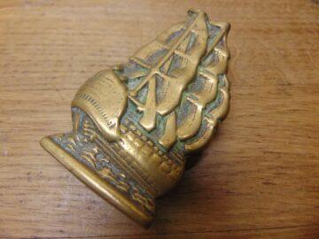 Brass Victory Door Knocker - D682-0221 Antique Door Knocker Company