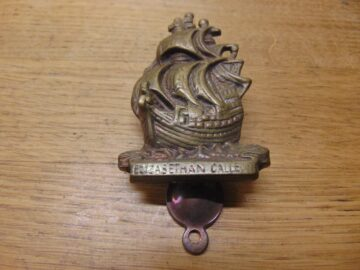 Elizabethan Galleon Door Knocker- D687-0221 Antique Door Knocker Company