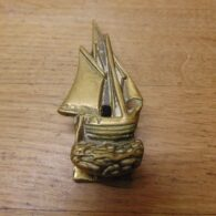 Antique Yacht Door Knocker - D689-0221 Antique Door Knocker Company