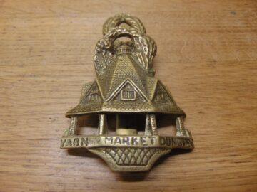 The Old Yarn Market Door Knocker - D691-0221 Antique Door Knocker Company