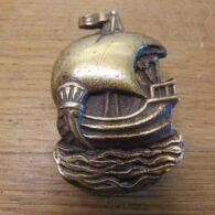 Cog Ship Door Knocker - D694-0121 Antique Door Knocker Company