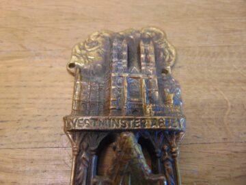 Westminster Abbey Coronation Door Knocker - D699-0221 Antique Door Knocker Company