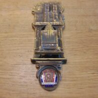 Westminster Abbey Coronation Door Knocker - D699-0221 Antique Door Knocker Company