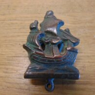 Sailing Ship Door Knocker - D704-0221 Antique Door Knocker Company