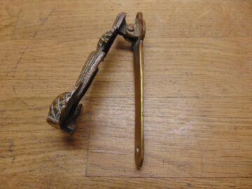Scottish Thistle Door Knocker - D084-0421 Antique Door Knocker Company
