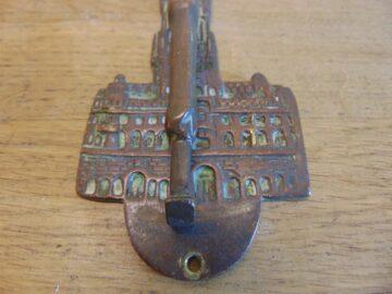 Colosseum Door Knocker - D177-0321 Antique Door Knocker Company
