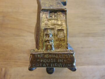 Smallest House Doorbell - D391-0321 Antique Door Knocker Company