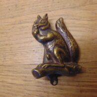 Squirrel Door Knocker - D569-0421 Antique Door Knocker Company