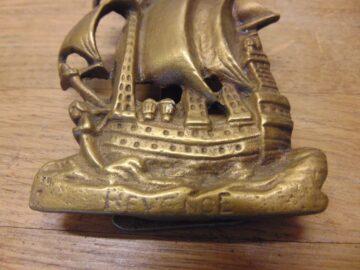 Revenge Ship Door Knocker - D680-0421 Antique Door Knocker Company