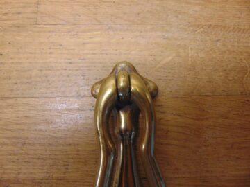 Art Nouveau Door Knocker - D714-0421 Antique Door Knocker Company