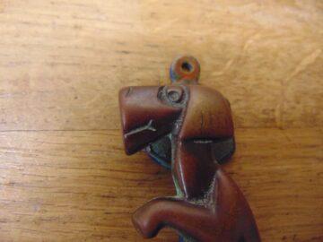 Art Deco Dog Door Knocker - D677-0521 Antique Door Knocker Company