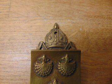 Reading Abbey Door Knocker - D718-0521 Antique Door Knocker Company