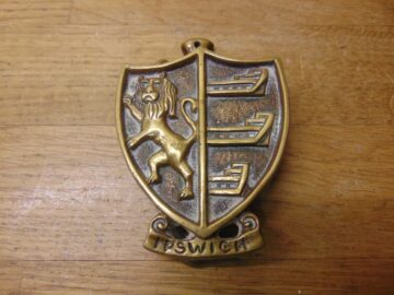 Ipswich Door Knocker - D719-0521 Antique Door Knocker Company