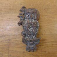 Owl Door Knocker - D187-0821 Antique Door Knocker Company