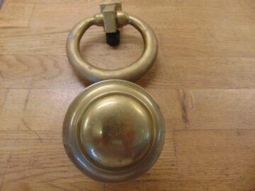 Georgian Door Furniture Set - D371L-0821 Antique Door Knocker Company