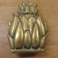 Pineapple Door Knocker - D412-0821 Antique Door Knocker Company