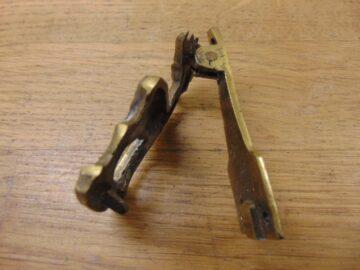 Brass Stag Door Knocker - D392-0921 Antique Door Knocker Company
