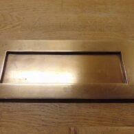 Large Brass Letter Box - D526-0921 Antique Door Knocker Company