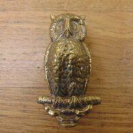 Small Owl Door Knocker - D726-0921 Antique Door Knocker Company